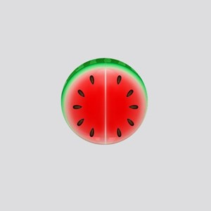 Watermelon Slice Mini Button